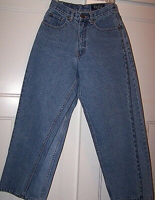 Lot of 2 Eddie Bauer Loose Fit Women's Petite Jeans Size 2