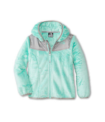NEW The North Face Infant Baby Girl Oso Surf Green Hoodie Fleece Jacket 6-12M