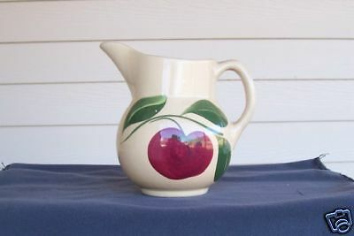 Watt Pottery Creamer ~Apple~ No. 15