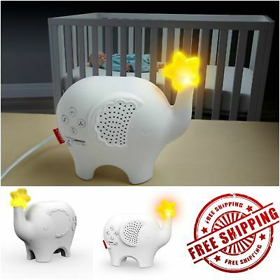 Fisher Price Baby White Noise Sleep Sound Machine Maker Elephant Toy Tax Free