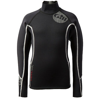 Gill Junior Thermoskin Wetsuit Top - Black