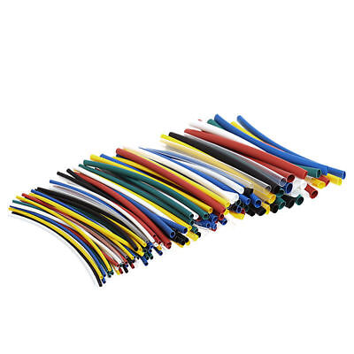 140x Assorted 2:1 Heat Shrink Tubing Sleeving Wrap Electrical Wire Cable Kit