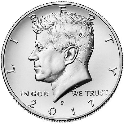 2017 Kennedy Half Dollar P+D Mint 2-Coin Set Brilliant Uncirculated