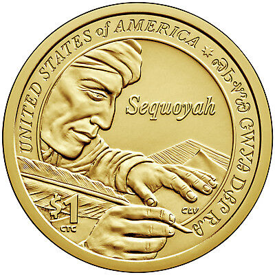 2017 Native American (Sacagawea) Dollar P+D 2-Coin Set Brilliant Uncirculated