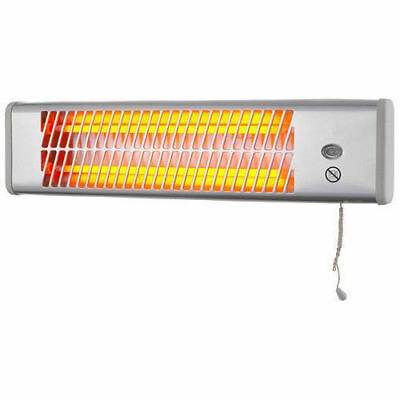 Heller 1200W Strip Heater/Wall Mounted/Pull Cord Operation SH1200W
