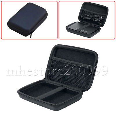 """Portable 2.5"""" PC Laptop USB External HDD Hard Drive Storage Carry Case UK FAST"""
