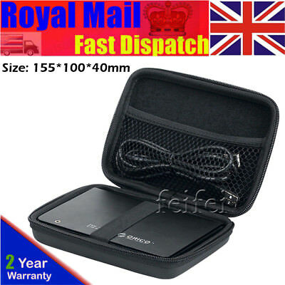 2.5'' External Hard Disk Drive Case Carry Pouch for Seagate Western Digital -UK