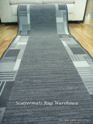 Clearance Ready to go Hall Runners from end of Rolls Montana Grey Huf 97