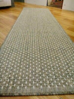 Clearance Ready to go Hall Runners from end of Rolls Gest Metal Flatweave Plain