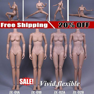Plastic Female Body Toy Female Mannequin Excellent Mobility Female Soldier GT