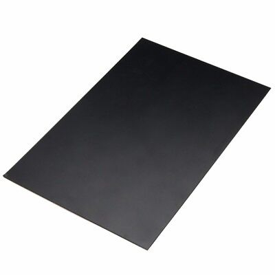 1 pcs Durable ABS Styrene Plastic Flat Sheet Plate 1mm x 200mm x 300mm, Black