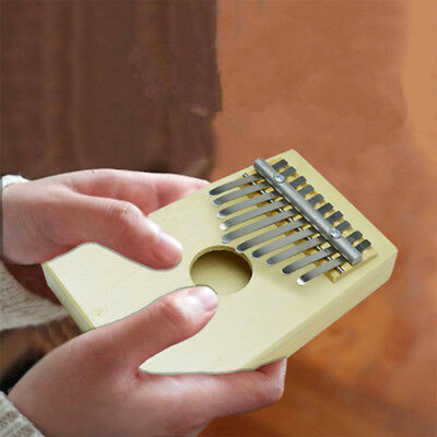 10 Key Kids Toy Finger Percussion Keyboard Music Instruments African Thumb Piano