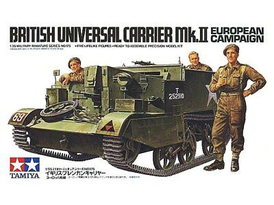 Tamiya 35175 1/35 Scale Military Model Kit WWII British Universal Carrier Mk.II