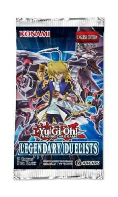 5x Yu-Gi-Oh! Legendary Duelists Booster Pack (5 sealed packs)