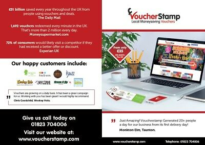 Succsesfull voucher based Business