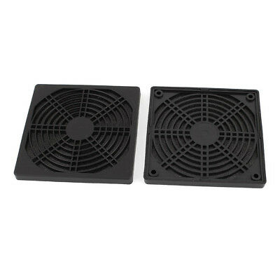 2 x protective grille finger guard 120mm PC Computer Case Cooler R2X7