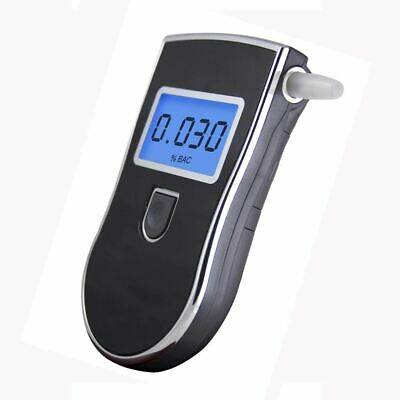 Professional Police Digital Breath Alcohol Tester Breathalyzer Alcometer Reading