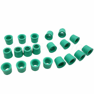 20pc A/C Recharge Hose Adapter Connector Grommet Gasket O-Ring Seals Rubber Ring