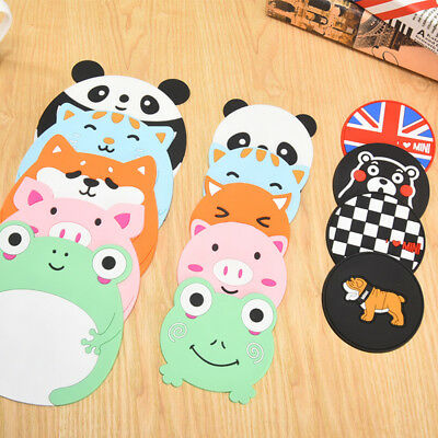 Cartoon Animal Coaster Cup Mat Placemat Drink Tea Pad Home Decor Multi Styles