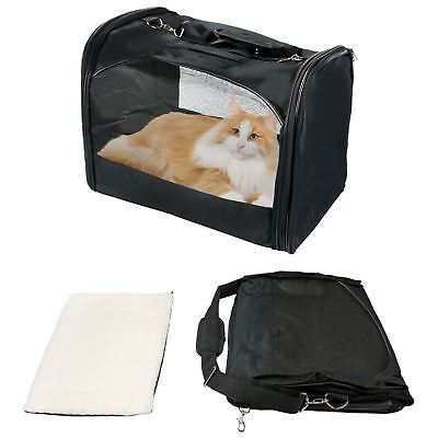 Pet Carrier Collapsible Fold Up Away Cat Small Dog Rabbit Carriers Travel 879008