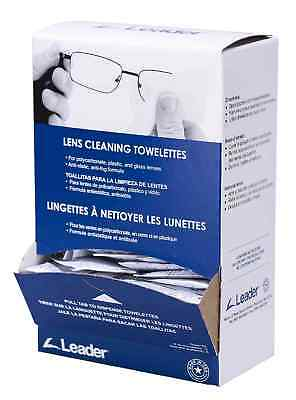 100 Bags X Dispenser Portwest PA01 Lens Cleaning Towelettes Eyewere Care Wipes