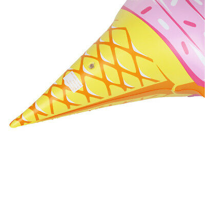 1*Swim Ice Cream Shaped Inflatable Water Fun Toys PVC Swimming Toy Hot Sale