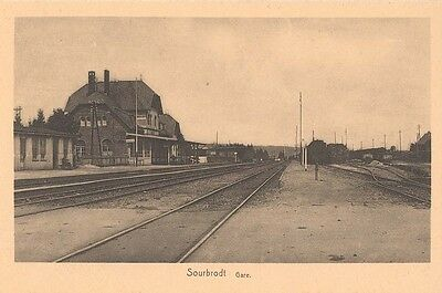 Sourbrodt : la Gare - het station