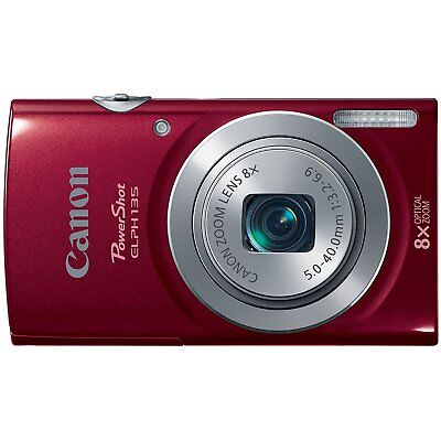 Camera, Canon PowerShot A2300 IS 16.0 MegaPixel, 5x Optical Zoom, Red