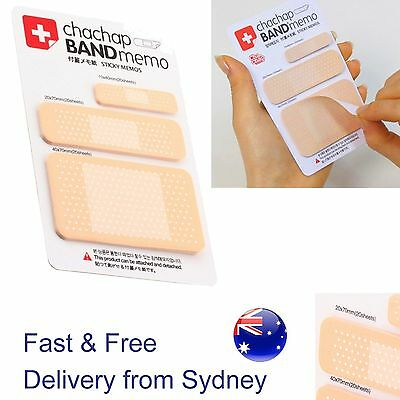 Note pad band aid sticky notes Get Well soon memo doctor Novelty health stickies