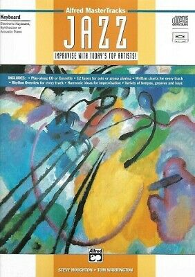 Partition+CD pour piano - En anglais - Jazz improvise with today's top artists