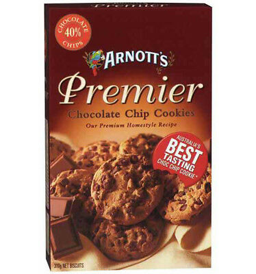 Arnotts Premier Chocolate Chip Biscuit 310g