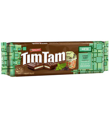 Arnotts Tim Tam Chocolate Mint 160g