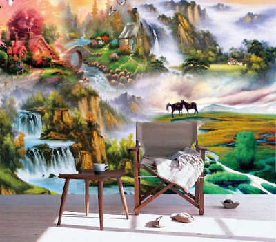 Ambitious Nice Hills 3D Full Wall Mural Photo Wallpaper Printing Home Kids Decor