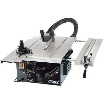Draper Sliding Table Saw 250mm 1800W 230V with FREE 36T TCT blade