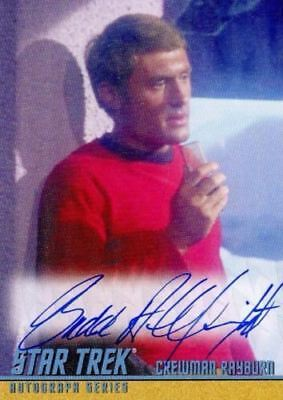 Star Trek TOS Portfolio Prints Budd Albright Autograph Card A272