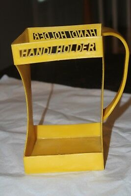 Vintage Yellow Handi Holder 1/2 Gallon Milk Carton Holder Evlo Plastics 1971