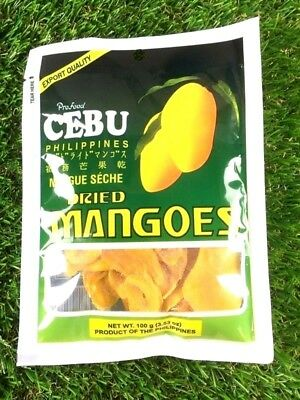 Mango Sweet Dried Delicious Dehydrated Party Snack CEBU Philippines 100g