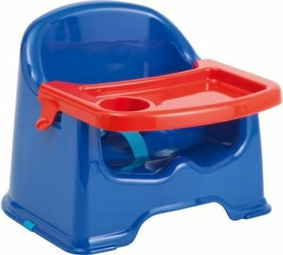 Strata Baby Basic Booster Seat Little Stars with Tray Blue