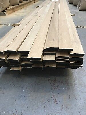 Solid Oak Chamfer Skirting Board 95mm - Chamfer - Long Lengths A grade Oak *****