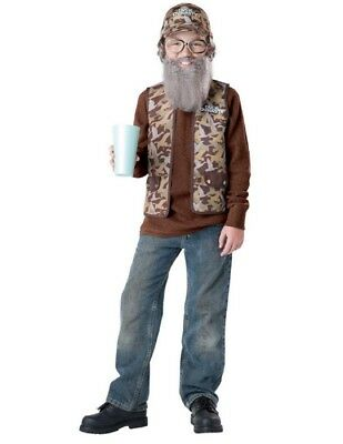 Boy's Duck Dynasty Uncle Si Costume