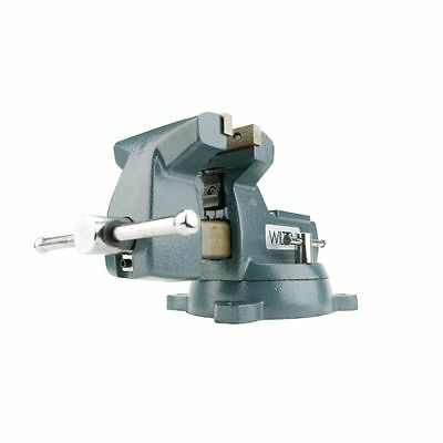 "Wilton 744 4"" Mechanics Bench Vise w/Swivel Base Model# 21300"
