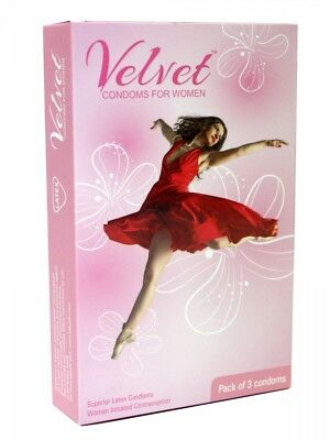 Velvet Pleasure Female Condom By Moods I 3 sachets