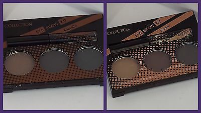 Collection Work the Colour Eyebrow Kit - Blonde or Brunette Shades