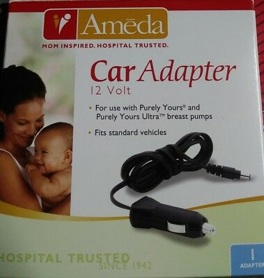 NEW Ameda Purely Yours Breast Pump Car Adapter 17079 Genuine Ameda Part