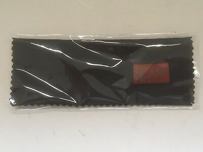 Ray-Ban Black Lens Cleaning Cloth Eyeglass Care Maintenance New In Plastic