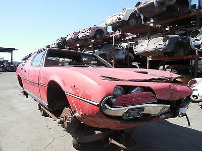 1974 Alfa Romeo Montreal 1974 Alfa Romeo Montreal Coupe Project Car for Res 1974 Alfa Romeo Montreal Coupe Project Car for Restoration
