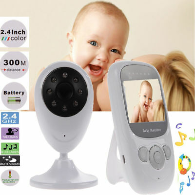Wireless Digital Babyphone Kamera Video Baby Monitor Nachtsicht Babycam