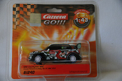 Carrera Go !!! Mini Countryman WRC, Art. Nr. 61240, neu !!!