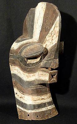 Old Songye Kifwebe Male Mask Congo Mascara African Art