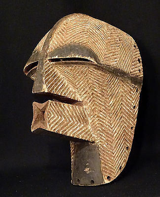 Old Songye Kifwebe Female Mask Congo Mascara African Art